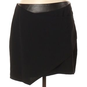 Rebecca Minkoff Wrap Skirt w/Leather Waistband-NWT